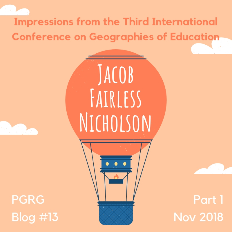 Impressions from the Third International Conference on Geographies of Education
