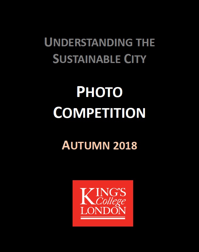 'Understanding the Sustainable City' MA/MSc Students Photography Competition 2018